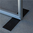 Low profile foot for  Free Standing System